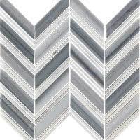 Chevron - Skyline - Size 12x10 mosaic nominal