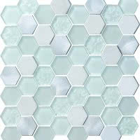 Finish Line - Pearl Metallic - Size 12x12 mosaic nominal