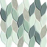 Leaves - Blue Heron - Size 12x12 mosaic nominal