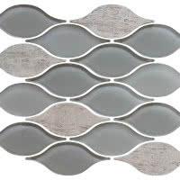 Tear Drop - Mist - Size 12x12 mosaic nominal