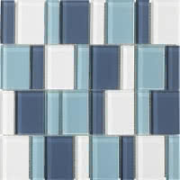 Uptown - Sky - Size 12x12 mosaic nominal