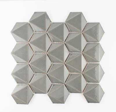 3D-Hex---Dark-Grey---04---Size-11x11-Mosaic