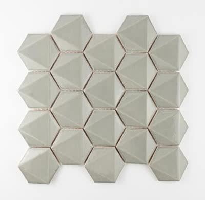 3D-Hex---Light-Grey---06---Size-11x11-Mosaic