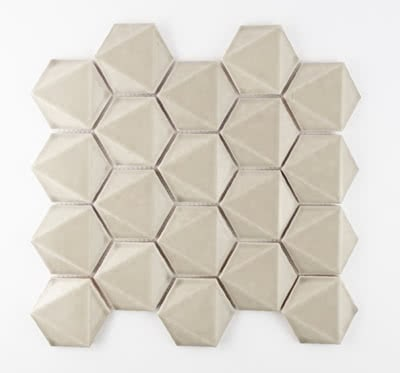 3D-Hex---Taupe---09---11x11-Mosaic
