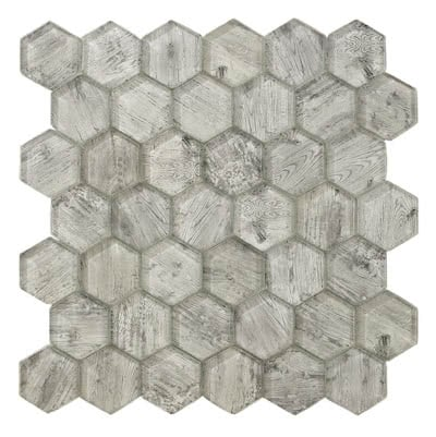 Forest-Hex---Bark---HH648-1---Size-11x11-Mosaic