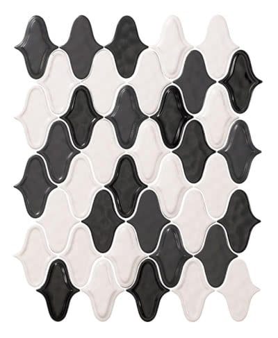 Groovy-Lantern---Black-&-White-Blend--11B---Size-20.8x12.9-Mosaic