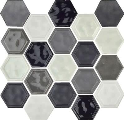 Hexagon---Cool-Blend---12B---Size10.5x12-Mosaic