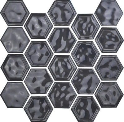 Hexagon---Dark-Grey---04---Size-10.5x12-Mosaic