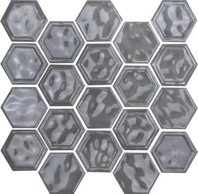 Hexagon---Light-Grey---06---Size-10.5x12-Mosaic