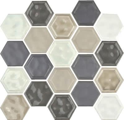 Hexagon---Warm-Blend---13B---Size10.5x12-Mosaic