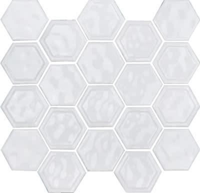 Hexagon---White---03---Size-10.5x12-Mosaic