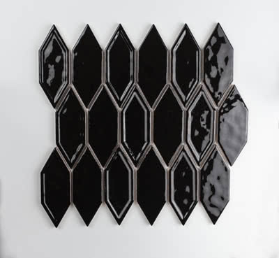Picket---Black---#02G---Size-11x11.6-Mosaic