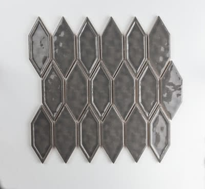 Picket---Dark-Grey---#04G---Size-11x11.6-Mosaic